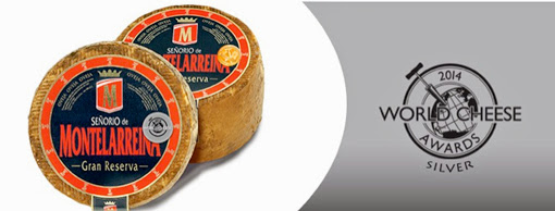 Señorío de Montelarreina premiado en el World Cheese Awards 2014